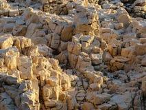 Rochas na luz solar Fotos de Stock
