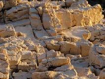Rochas na luz solar Imagens de Stock