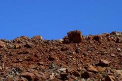 Rochas na montanha Imagens de Stock Royalty Free