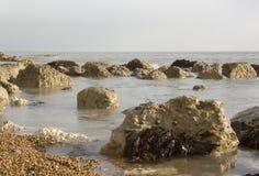 Rochas na praia Imagens de Stock Royalty Free
