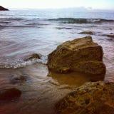 Rochas na praia Foto de Stock Royalty Free
