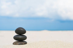 Rochas na praia Imagem de Stock Royalty Free