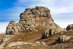 Rochas nas montanhas Fotografia de Stock