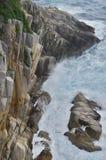 Rochas no cabo Ashizuri foto de stock