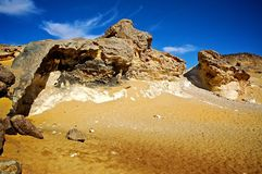 Rochas no deserto ocidental foto de stock