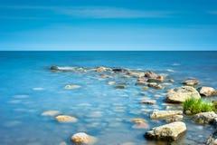 Rochas no litoral Imagens de Stock