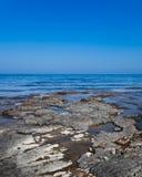 Rochas no mar Imagem de Stock Royalty Free