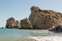 Rochas no mar Fotos de Stock