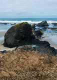 Rochas no mar Fotografia de Stock Royalty Free