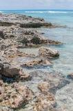Rochas & oceano Imagem de Stock