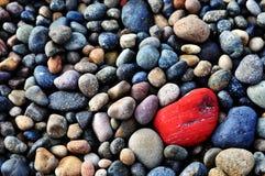 Rochas patagonian Imagem de Stock