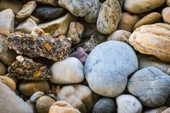 Rochas, pedras e minerais Imagens de Stock Royalty Free