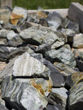 Rochas, pedras preciosas e minerais coloridos para a venda em Bryce Village em Utá EUA Foto de Stock