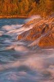 Rochas retratadas outono Imagens de Stock