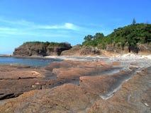 Rochas sedimentares Foto de Stock