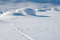 Rochas Snow-covered Fotos de Stock