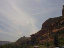 Rochas vermelhas de Sedona no vale da angra do carvalho Foto de Stock Royalty Free