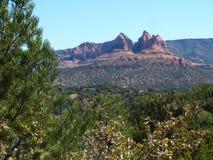 Rochas vermelhas de Sedona, o Arizona Foto de Stock