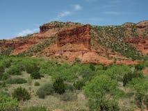Rochas vermelhas de Texas Fotografia de Stock