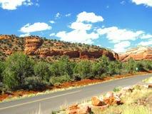 Rochas vermelhas do Arizona de Sedona Foto de Stock Royalty Free