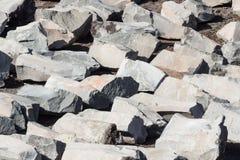 Rochas vulcânicas Imagem de Stock