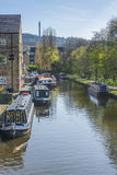 Rochdale canal sowerby bridge Royalty Free Stock Image