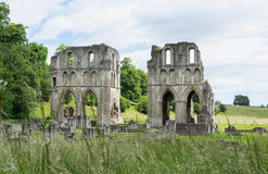 Roche Abbey, Maltby, Rotherham, England. The Ruins of Roche Abbey in Maltby, Rotherham, England Stock Photos