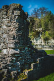 Roche Abbey Ruins Maltby Großbritannien stockfotografie