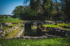 Roche Abbey Ruins Maltby Großbritannien lizenzfreie stockfotos
