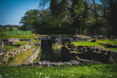 Roche Abbey Ruins Maltby UK Royalty Free Stock Photos