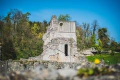 Roche Abbey Ruins Maltby UK. Roche Abbey Maltby Yorkshire UK Stock Photo