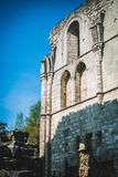 Roche Abbey Ruins Maltby UK. Roche Abbey Maltby Yorkshire UK Royalty Free Stock Image