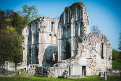 Roche Abbey Ruins Maltby UK. Roche Abbey Maltby Yorkshire UK Stock Images