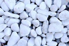 Roche blanche polie Image libre de droits