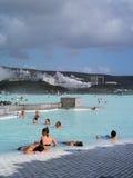 Roche bleue de lagune Photographie stock libre de droits