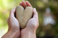 roche d'amour formée Photo libre de droits