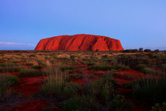 Roche d'Ayers - Uluru Photos stock