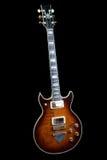 roche d'Ibanez de guitare vieille Images libres de droits