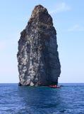 roche de bateau Photo libre de droits