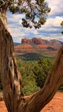 Roche de cathédrale, Sedona photo stock