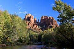 Roche de cathédrale, Sedona Arizona Image libre de droits