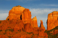 Roche de cathédrale, Sedona, Az Photo stock