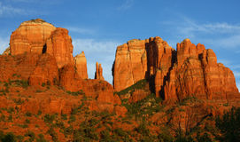 Roche de cathédrale, Sedona, Az Photos stock