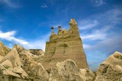 Roche de chameau dans Goreme, Cappadocia Photos stock