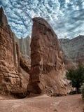 Roche de cheminée en parc d'état de Kodachrome, Utah Images libres de droits
