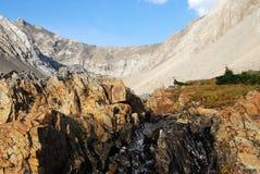 roche de crique de bassin Photographie stock