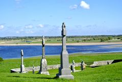 Roche de croix de l'Irlande Image stock