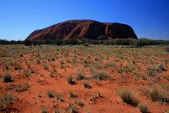 roche de désert d'ayers Photographie stock libre de droits