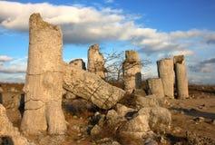 roche de formations Photo stock