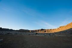 Roche de fort en Orégon central du sud rural image stock